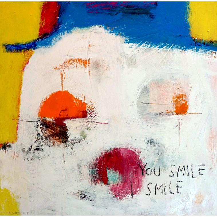 """""""You smile""""  de The Catman"""