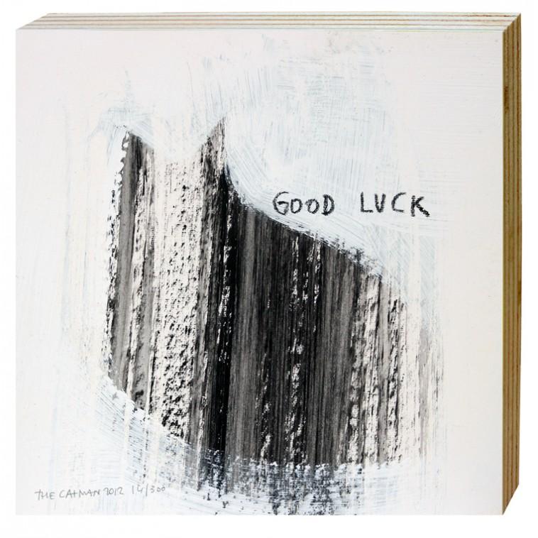 Good luck - thecatman