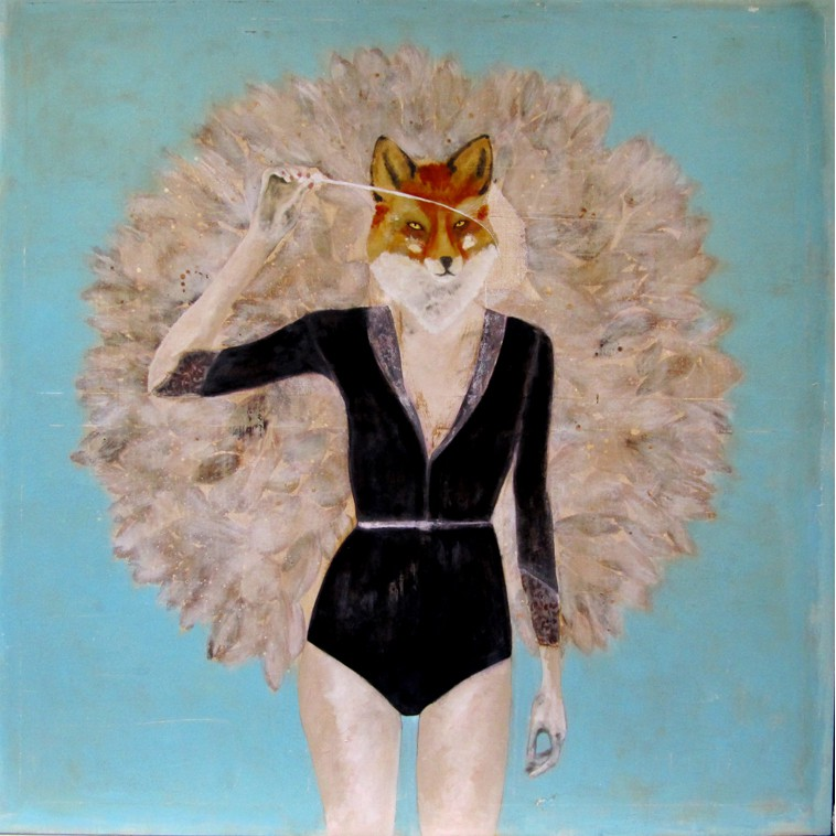 Turquoise fox_K.Fabrizzi