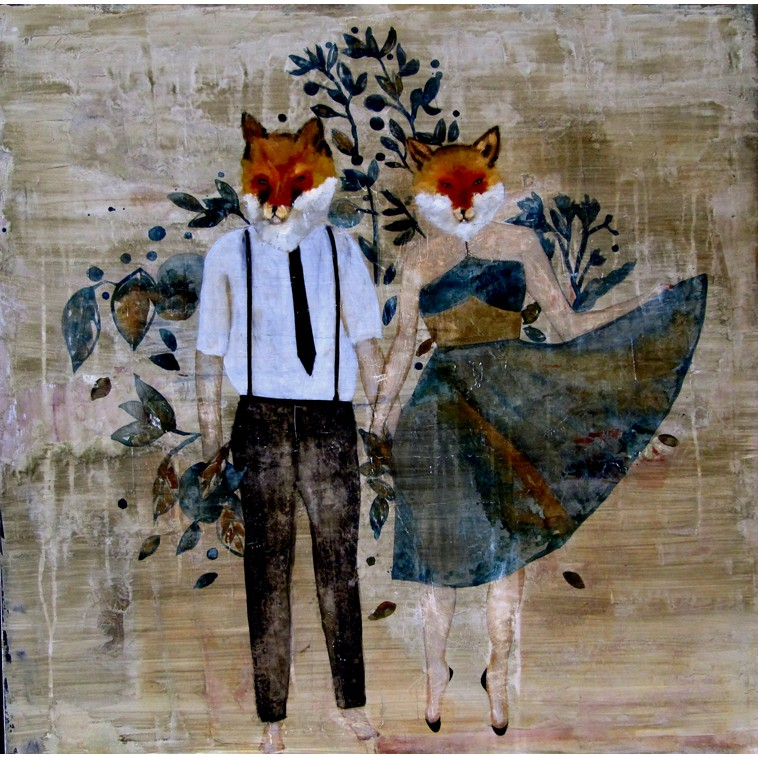 The Foxies in blue_K.Fabrizzi