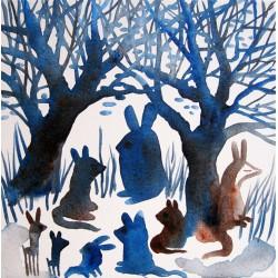 Encuentro en el bosque azul - vanesa linares
