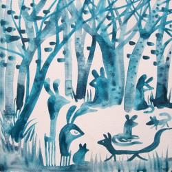 Azul invierno 01 - vanesa linares