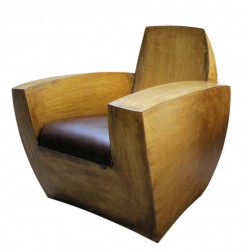 EASY TWO Bronze armchair