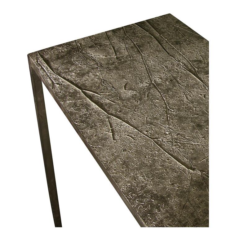 EMPREINTES graphite table console