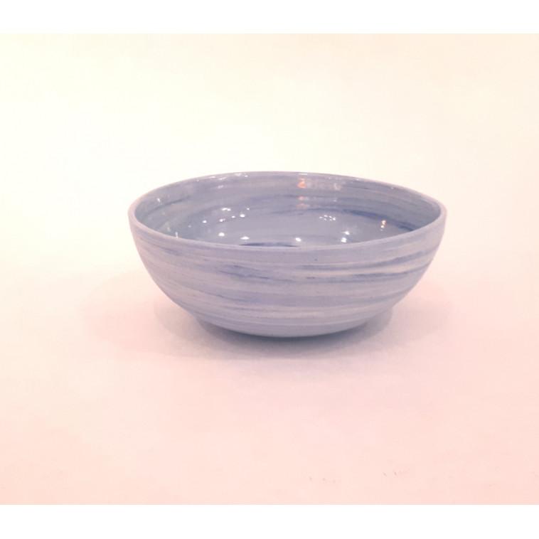 Cuenco Porcelana azul mezclado
