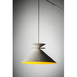 Gauargi blanca, lampara de techo