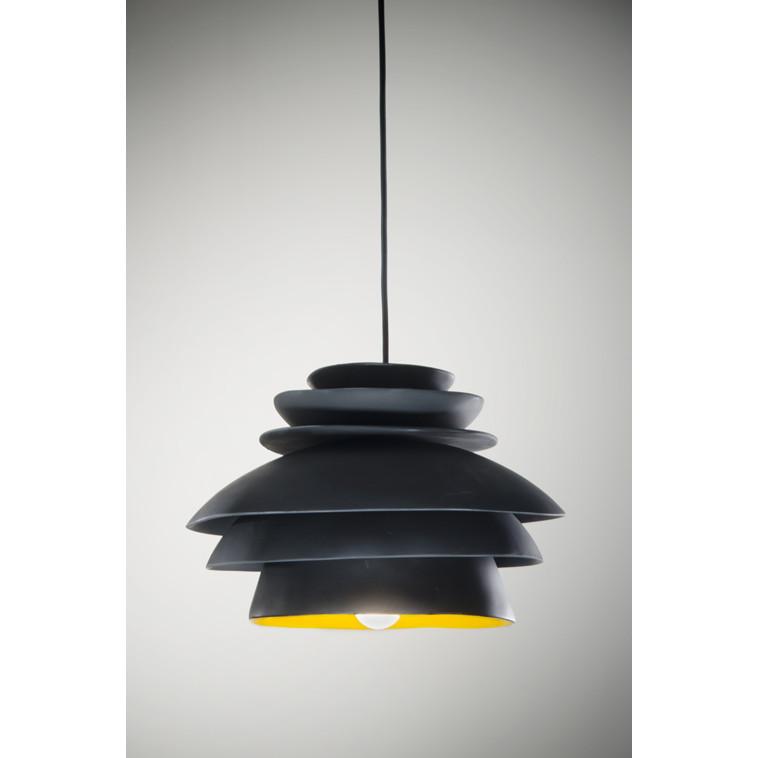 Argialdi negra, lámpara de techo