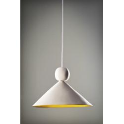 Ilargi blanca, lámpara de techo