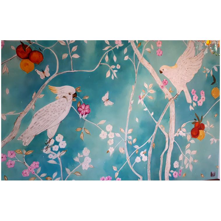 Sweet Tropical - Mural de K. Fabrizzi