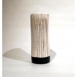 Florero ceramica Blanco & Negro