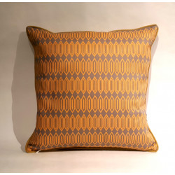 Hexagon Amarillo cushion