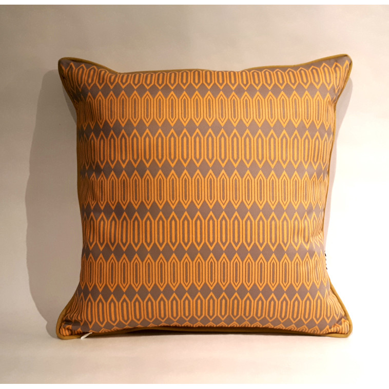 Coussin Hexagon Amarillo