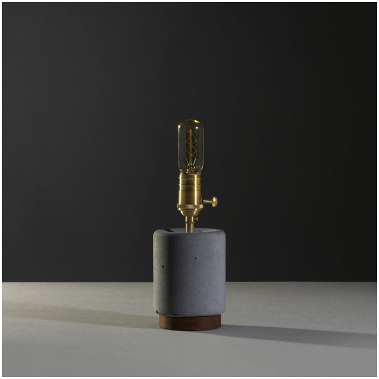 lampara de sobre mesa CONCRETO M