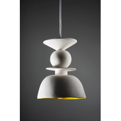 White Caliz pendant lamp
