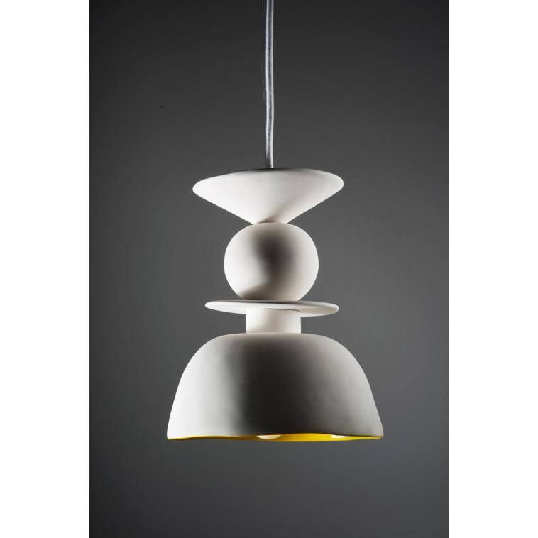 Lámpara Caliz blanca