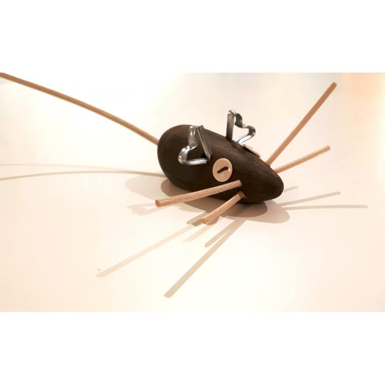 Ratón, escultura de Edu Palus