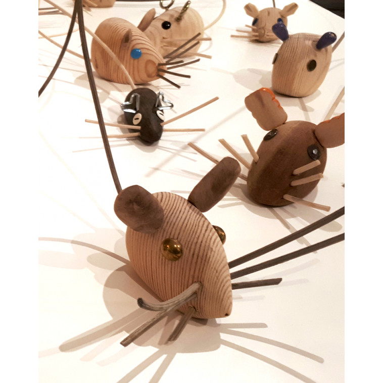 Ratón 02, sculpture
