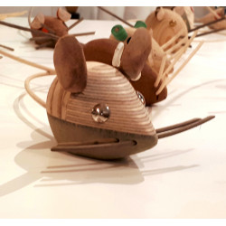 Ratón 03, sculpture