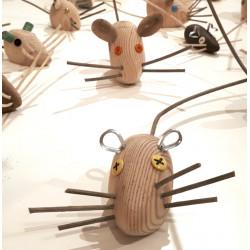 Ratón 04, escultura