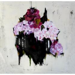 Black bouquet, cuadro de K. Fabrizzi
