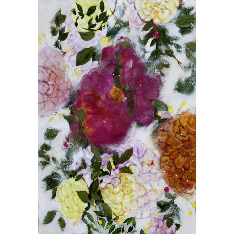 Ice & Flowers, cuadro de K. Fabrizzi