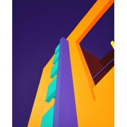 A cielo abierto 06, tableau de F. Rainone