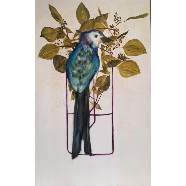 Bird in a vase cuadro de K. Fabrizzi
