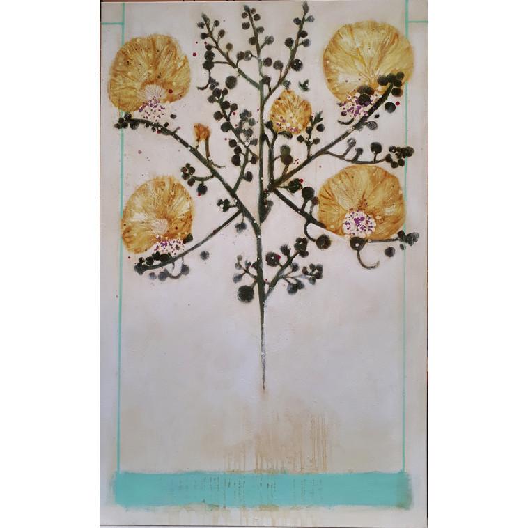 Yellow blossom cuadro de K. Fabrizzi