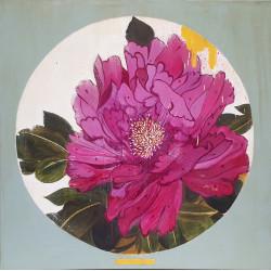 Flowers circle 01 cuadro de K. Fabrizzi