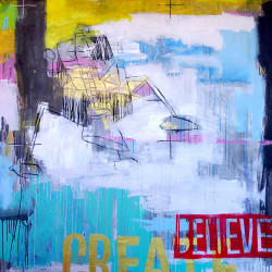 BELIEVE painting by The Catman