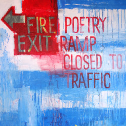 FIRE EXIT 2019 painting by The Catman