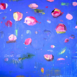 PINK LEMONS painting by The Catman