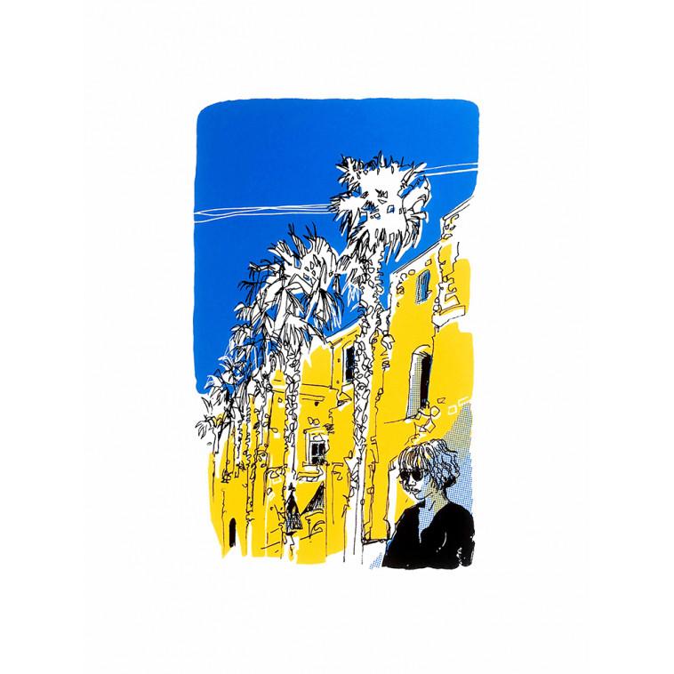 SAN AGUSTI serigrafía de V. Hariga