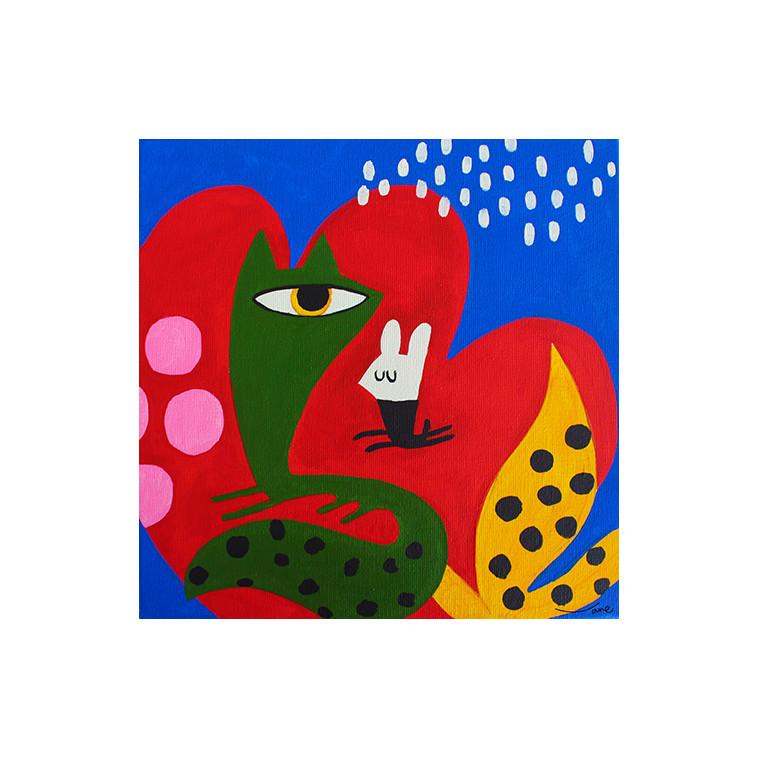 MISTERI DEL POEMA tableau de V. Linares