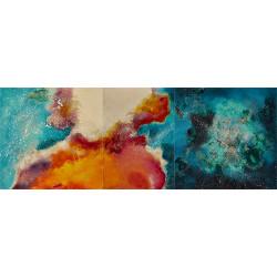 SUNSET OF THE BEACH tableau de I. Fortuny