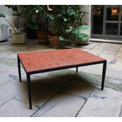 EMPREINTES Roja mesa de centro de Josep Cerdá