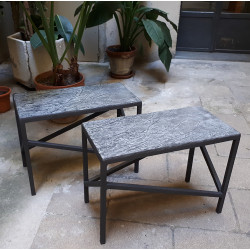EMPREINTES bench or side table