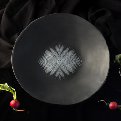 BEE BLACK salad bowl