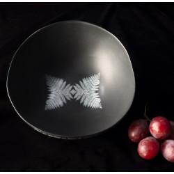 WOLF BLACK bowl