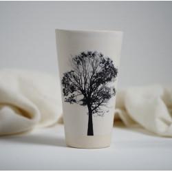 TREE WHITE vaso