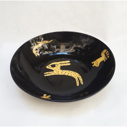 GUSPI NEGRO large bowl