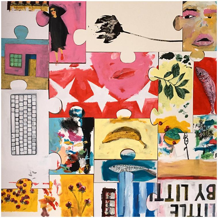 CARNET DE VOYAGE (PUZZLE) tableau