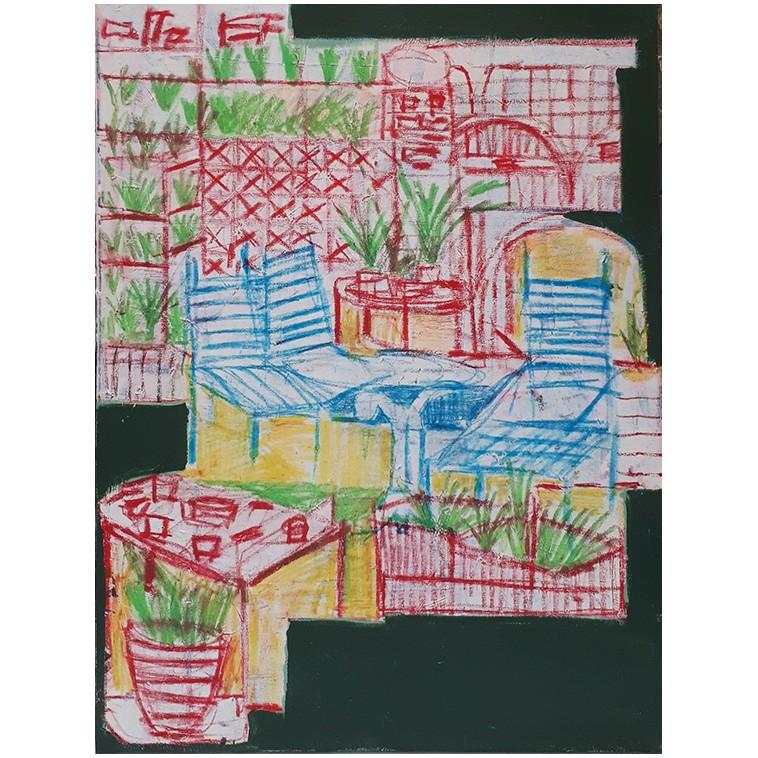 TERRAZAS 02 tableau de Irene Bou