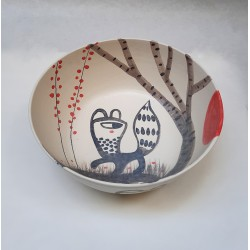 GUSPIRUS IN THE FOREST large bowl