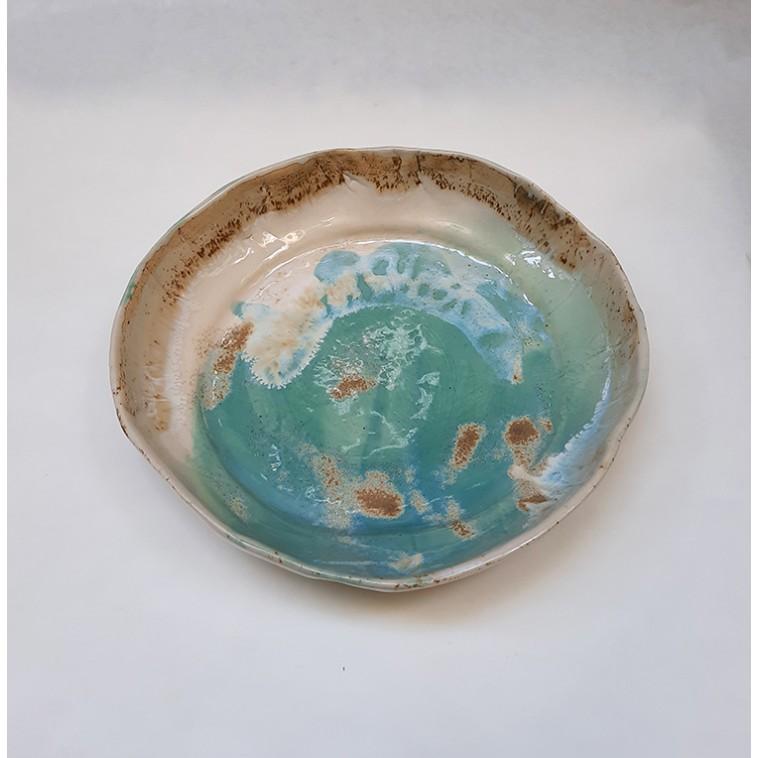 SAND 01 plato en ceramica de S. Requena