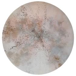 LUNA OLA 05 tableau circulaire par I. Fortuny