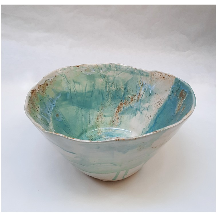SAND 02 ensaladera en ceramica de S. Requena