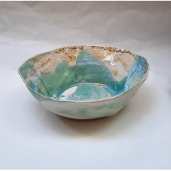 SAND 03 stoneware salad bowl by S. Requena