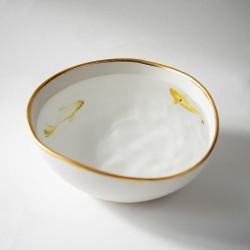 KOI FISH bowl, hand made artistic tableware
