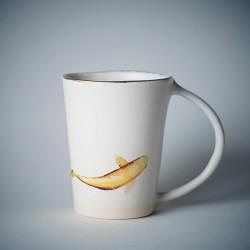 KOI FISH tasse ou mug en céramique décorée de carpes Koi